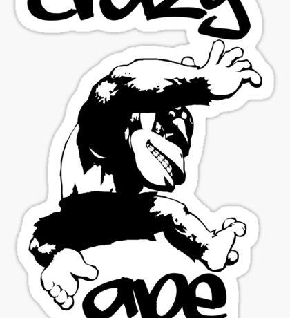 CRAZY APE Sticker