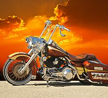 Harley-Davidson Outlaw Bagger II by DaveKoontz
