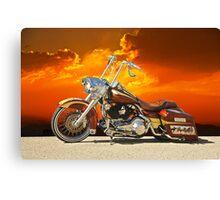Harley-Davidson Outlaw Bagger II Canvas Print