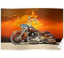 Harley-Davidson Outlaw Bagger II Poster
