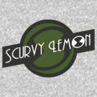 Scurvy Lemon Dark Green by Elton McManus
