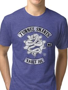 Tunnel Snakes Tri-blend T-Shirt