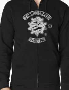 Tunnel Snakes Zipped Hoodie