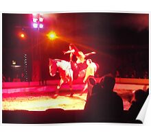 Zippos Circus/Horse Riding II -(160413)- Digital photo/FujiFilm FinePix AZ350 Poster