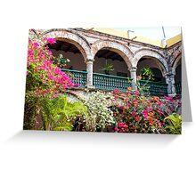 Convento de La Popa, Cartagena, Columbia Greeting Card