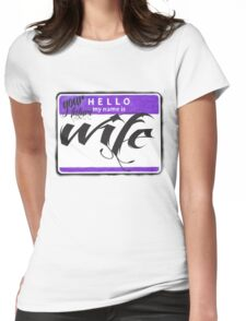 FUTURE WIFE Womens Fitted T-Shirt
