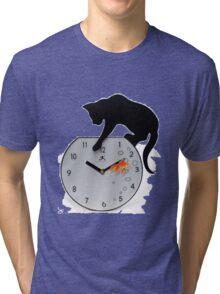 Fishing Cat Tri-blend T-Shirt
