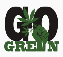 GO GREEN by chasemarsh