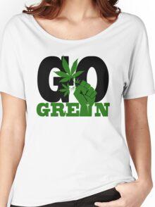 GO GREEN Women's Relaxed Fit T-Shirt