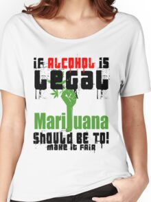 LEGALIZE IT Women's Relaxed Fit T-Shirt