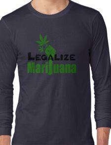 LEGALIZE MARIJUANA Long Sleeve T-Shirt