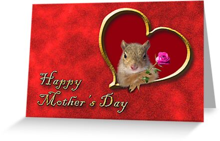 Mother's Day Squirrel by jkartlife