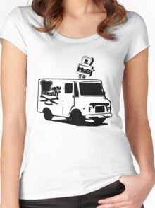 M.O.B. TOAST TRUCK Women's Fitted Scoop T-Shirt