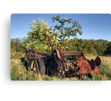 Never To Work The Fields Again Canvas Print