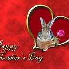 Mother's Day Bunny Rabbit by jkartlife