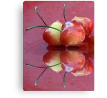 Rainier Cherries Three Canvas Print