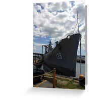USS Salem Greeting Card