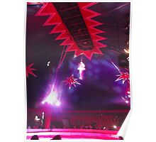 Zippo's Circus/High live wire act II -(150413)- Digital Photo/FujiFilm FinePix AX350 Poster