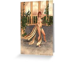 Golden Goddess Greeting Card