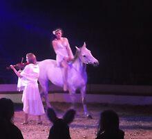 Zippo's Circus/Violin/Horse rider/Acrobat -(150413)- Digital Photo/FujiFilm FinePix AX350 by paulramnora