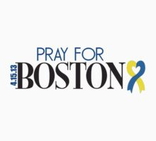 Pray for Boston by Paul Lawrence