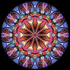 Blobs of Color Kaleidoscope 01 by fantasytripp