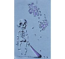Skeleton Pinata  Photographic Print