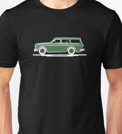Volvo Amazon Station Wagon Kombi Green Eerkes for Black Shirts Unisex T-Shirt