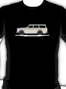 Volvo Amazon Station Wagon Kombi White for Black Shirts T-Shirt