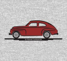 Volvo PV544 for Lite Shirts One Piece - Long Sleeve