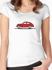 Volvo PV544 for Lite Shirts Women's Fitted Scoop T-Shirt