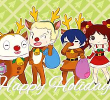 [P4] Happy Holidays - 2nd years - green by evandrelical
