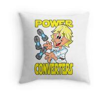"""Star Wars Luke Skywalker """"Power Converters"""" Throw Pillow"""