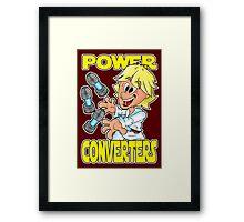 """Star Wars Luke Skywalker """"Power Converters"""" Framed Print"""