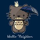 Hello Neighbor by fishbiscuit