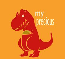 T-Rex Precious Taco funny nerd geek geeky Unisex T-Shirt