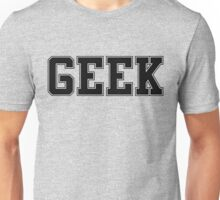 GEEK (for light color t-shirts) Unisex T-Shirt