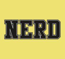NERD (for light color t-shirts) Kids Clothes