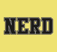 NERD (for light color t-shirts) One Piece - Short Sleeve