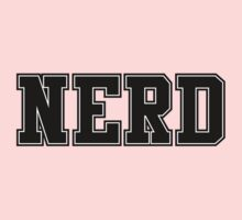 NERD (for light color t-shirts) One Piece - Long Sleeve