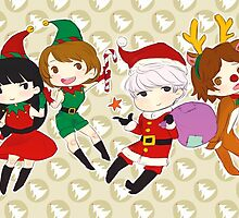 [P4] Happy Holidays - 3rd years - brown by evandrelical