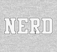NERD (for dark color t-shirts) Kids Tee
