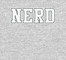 NERD (for dark color t-shirts) Hoodie