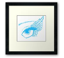 Angel Eyes Framed Print
