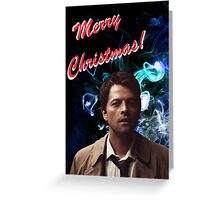 Christmas Castiel! Greeting Card