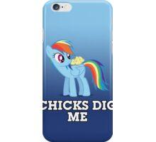 """Rainbow Dash - """"Chicks"""" Alternate Ver. iPhone Case/Skin"""