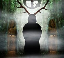 the horned lord  by Antony Potts