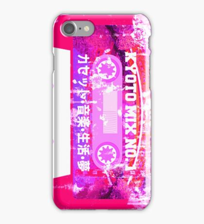 Cassette Kyoto Mix Tape iPhone Case/Skin