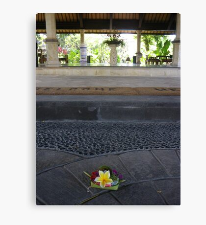 Simple but beautiful, everyday spirituality. Canvas Print