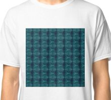 Op-Art Deep Sea Classic T-Shirt